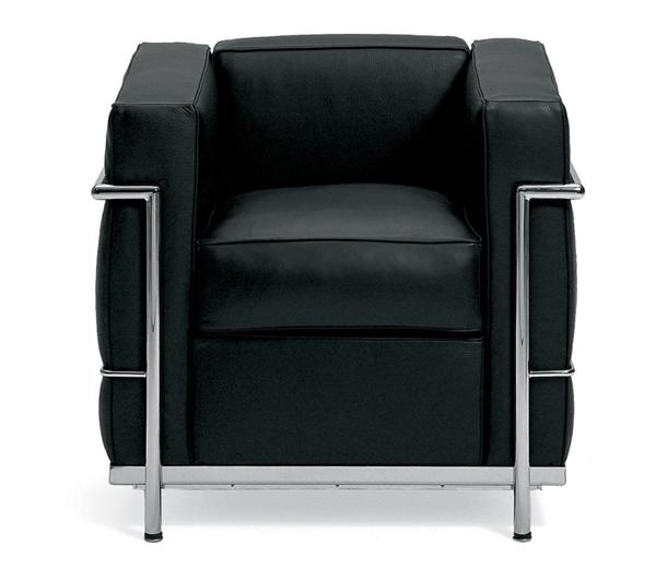 Le Corbusier LC2 Petite Sofa Remake
