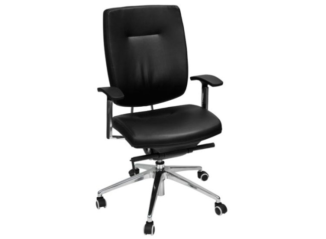 Mid Back Executive Leather Task Chair