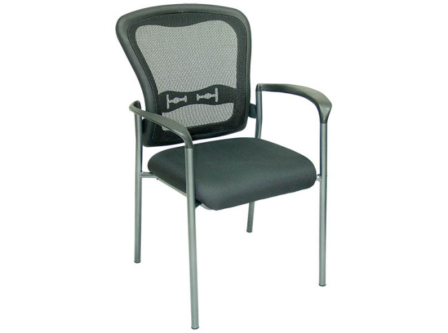 4-LEGS MESH BACK STACKABLE GUEST CHAIR