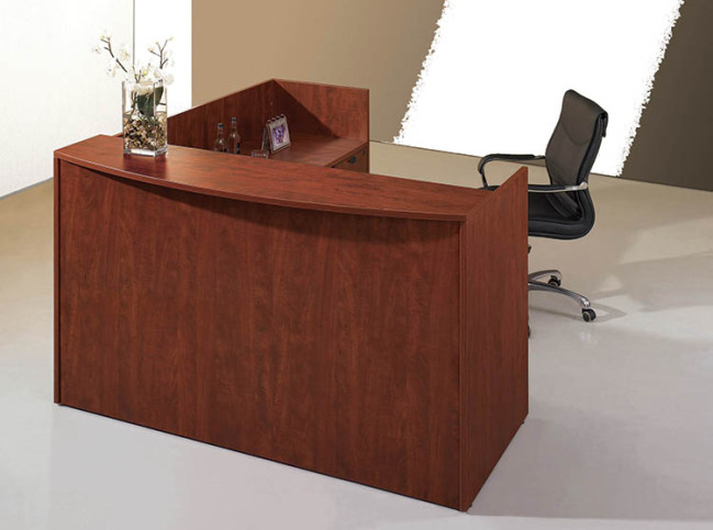 LAMINATE GALLERY RECEPTION DESK (REVERSIBLE)
