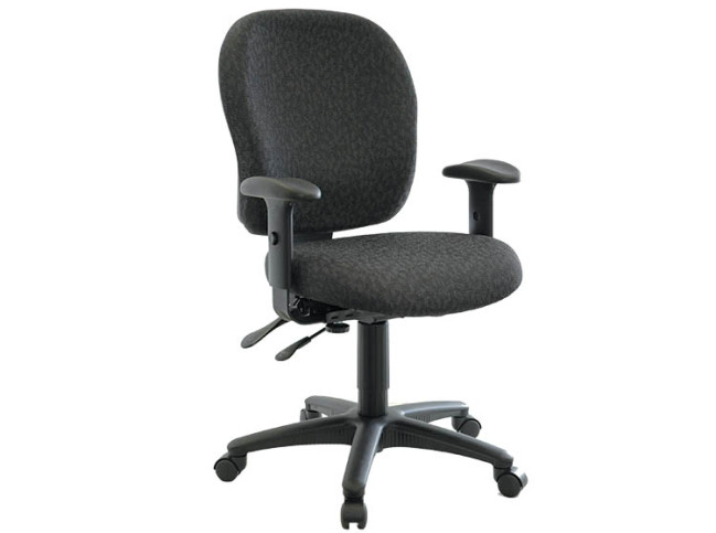 PRIMA SERIES – LOW BACK MULTI-TASK W SEAT AND BACK ANGLE ADJUSTMENT