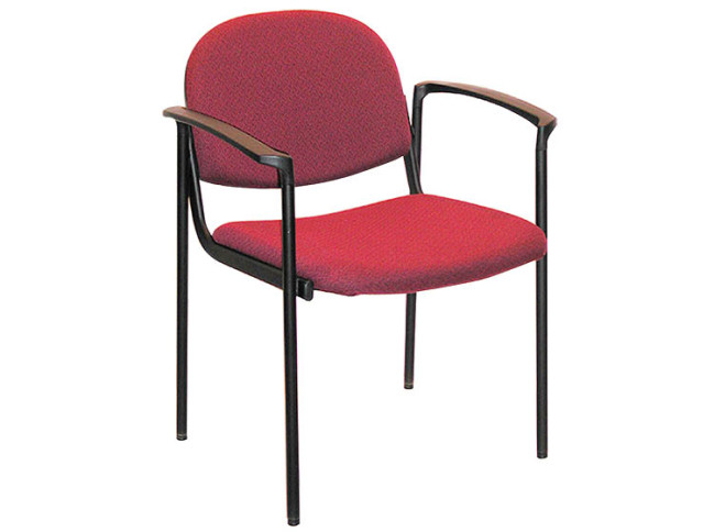SEDIA GUEST CHAIR 4 LEG BASE WITH PROTECTIVE SHELL