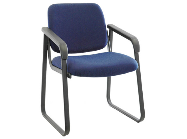 VITA SLAB BASE GUEST CHAIR WITH PROTECTIVE SHELL