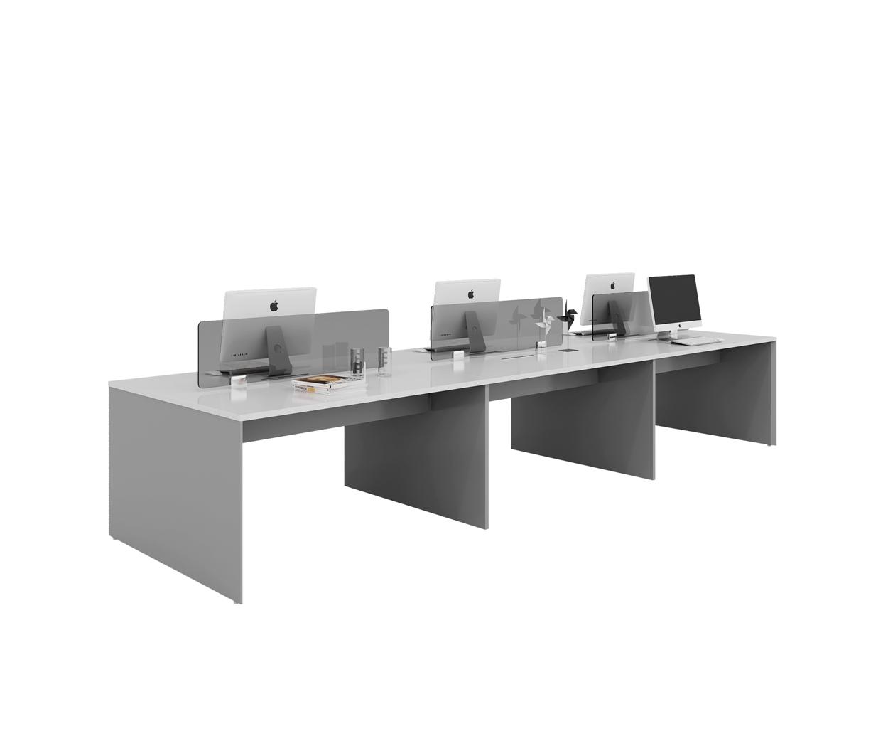 six people workstation