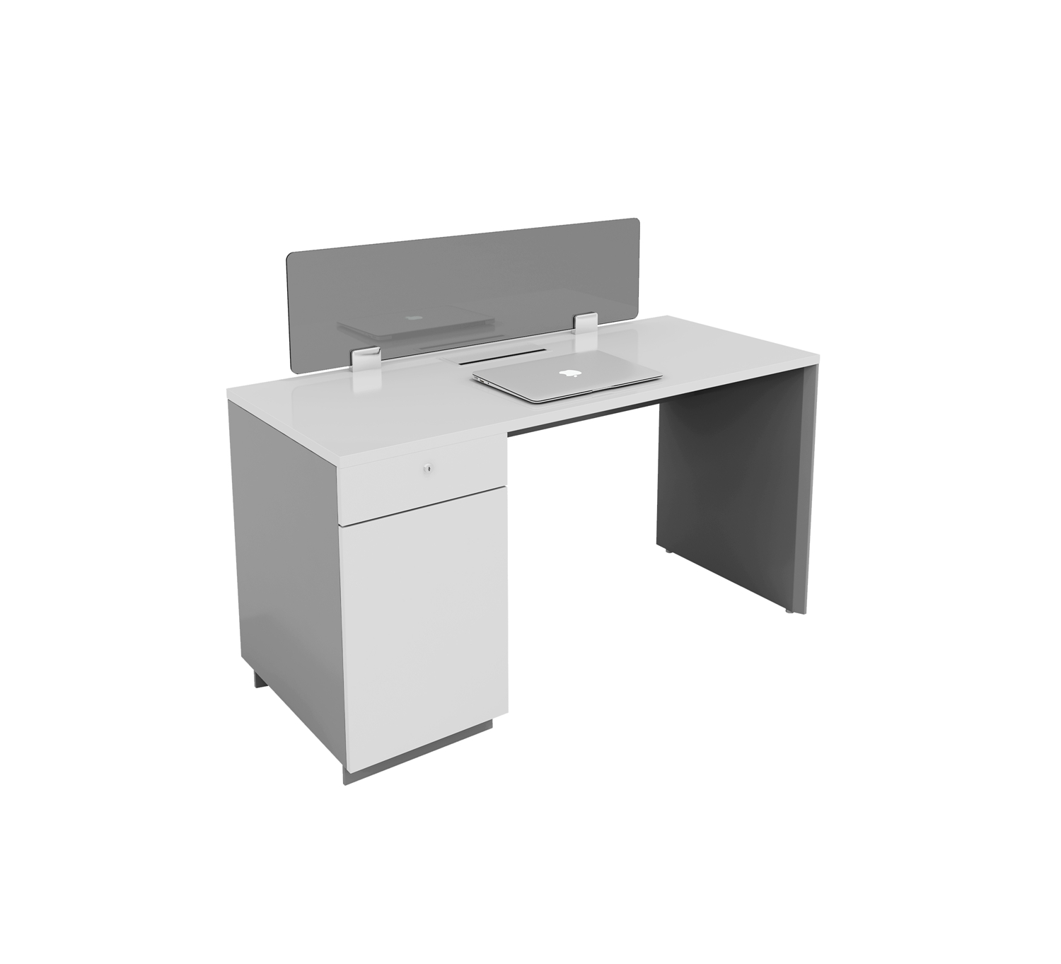 one people workstation with cabinet