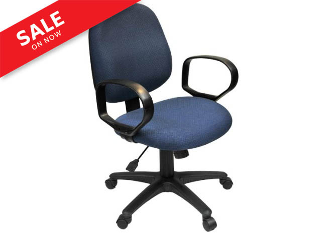 STENO CHAIR WITH OPEN LOOPED ARMREST