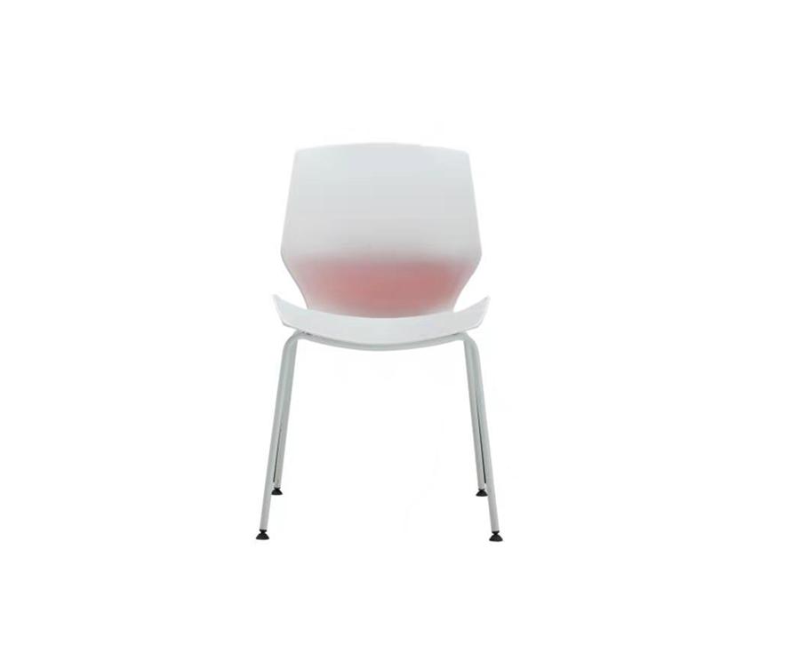 Multi-Purpose Polypropylene Stacking Chair with 4-legs base