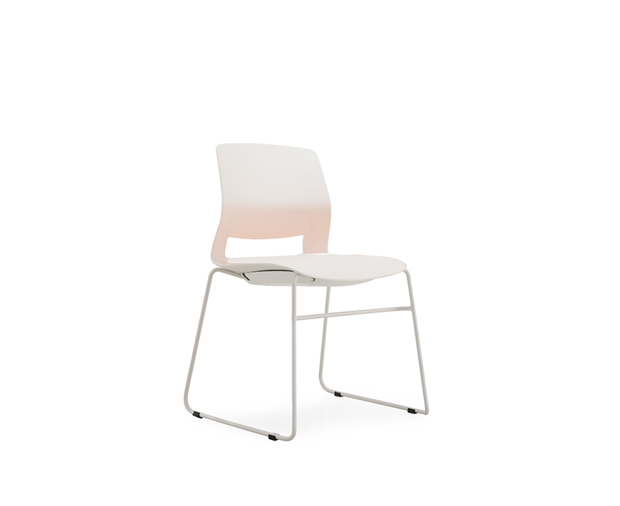 Multi-Purpose Polypropylene Stacking chair with Sled base