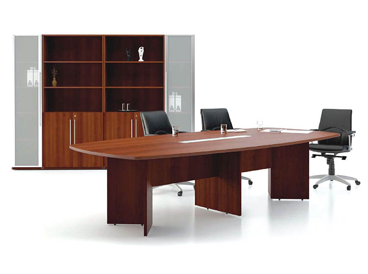 Designer Series -Laminated Boardroom Table with Stain Glass