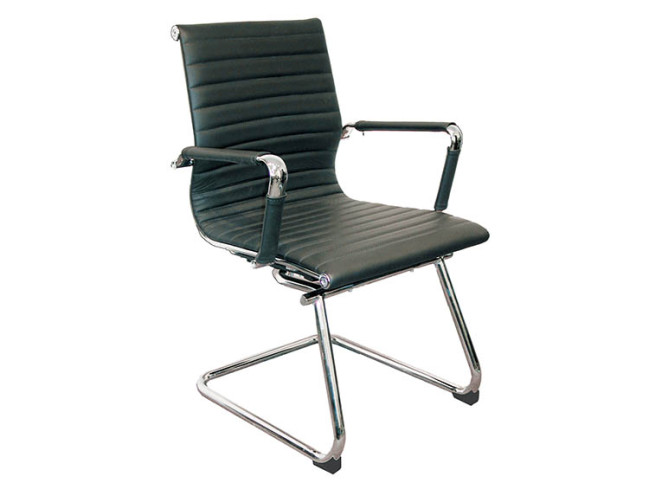 PORTIA MID BACK GUEST CHAIR WITH CANTILEVER BASE