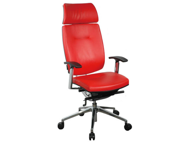 PRIVATE HIGH BACK EXECUTIVE LEATHER TASK CHAIR