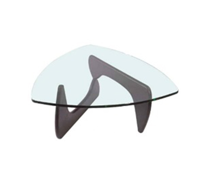 Coffee table in tempered glass