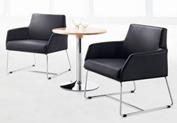 Leatherette Single Chair