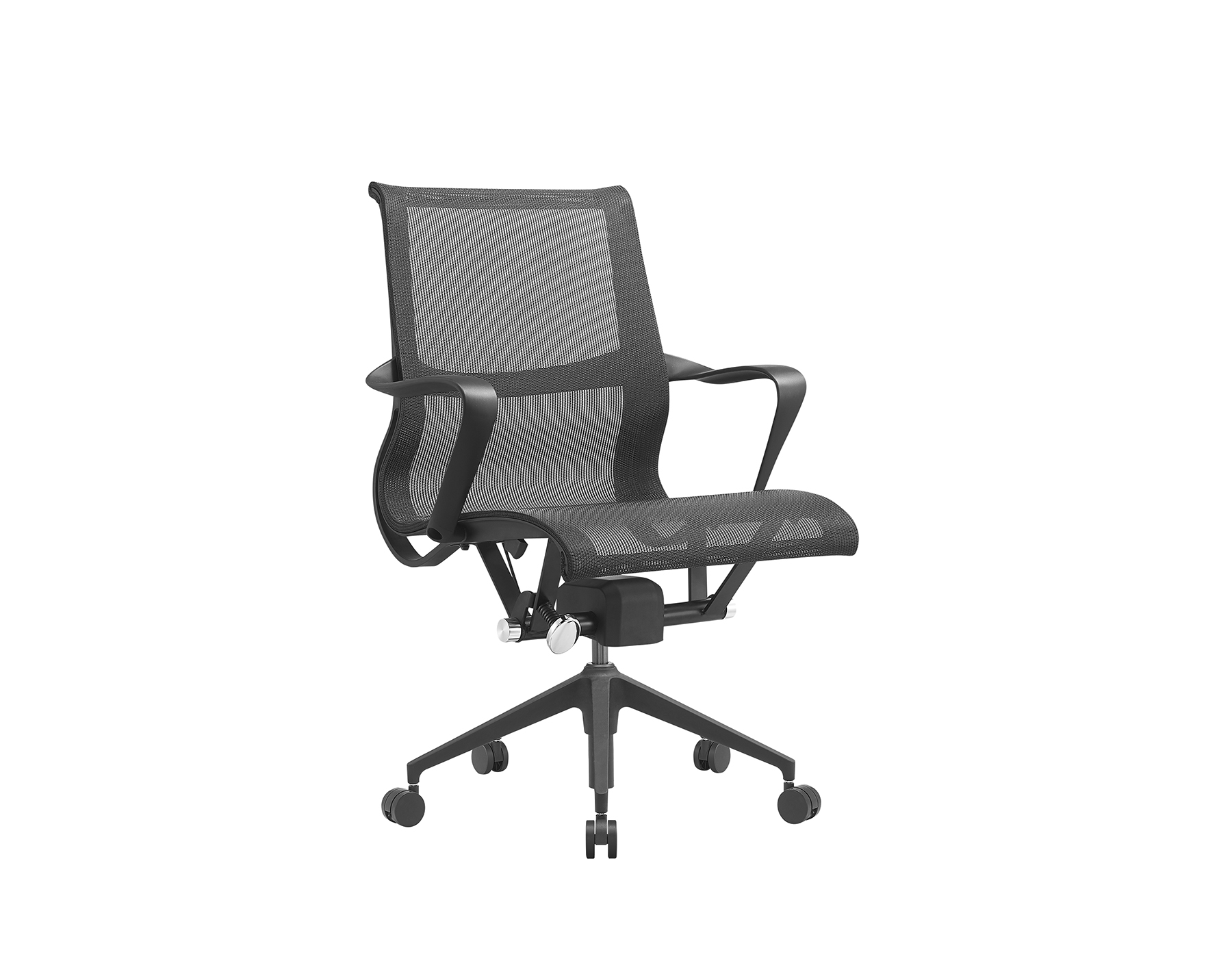 ERGONOMIC MESH ARM-CHAIR