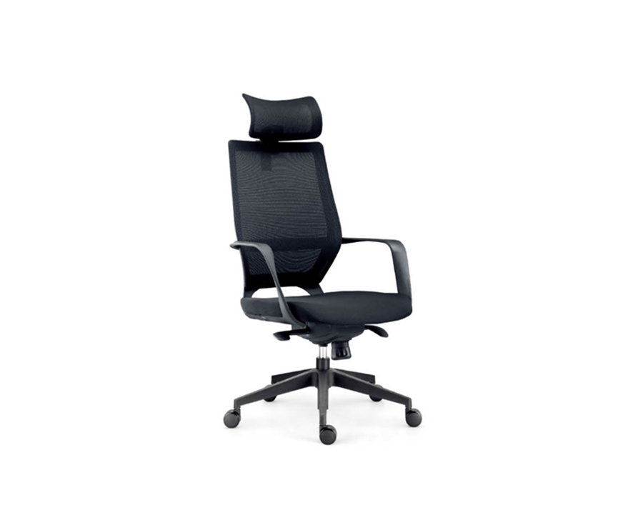 Multi-function Mesh Back Chair with Fabric Seat