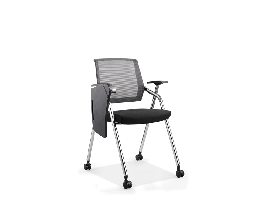 Mesh Back Chair With Tablet Arm