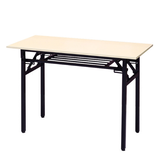 FOLDING TABLE WITH UNDER TRAY